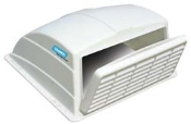 RV Vent Cover, White