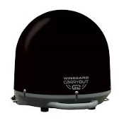 WINEGARD CARRYOUT G2 SATELLITE-BLACK